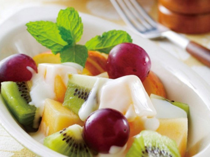 Фруктовый салат: лучшие диетические рецепты