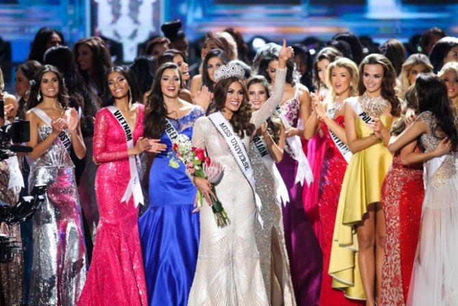 Габриэль Ислер Мисс Вселенная 2013