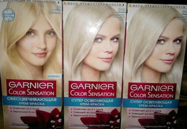 Garnier Color Sensation Супер Осветляющая