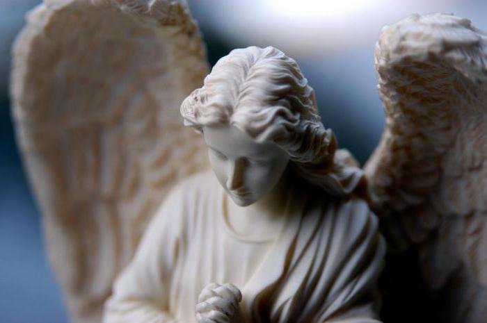 где сидит ангел хранитель молитва