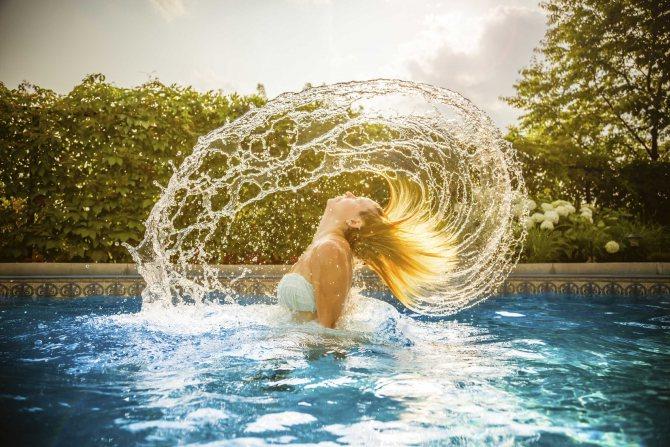гель с эффектом мокрых волос
