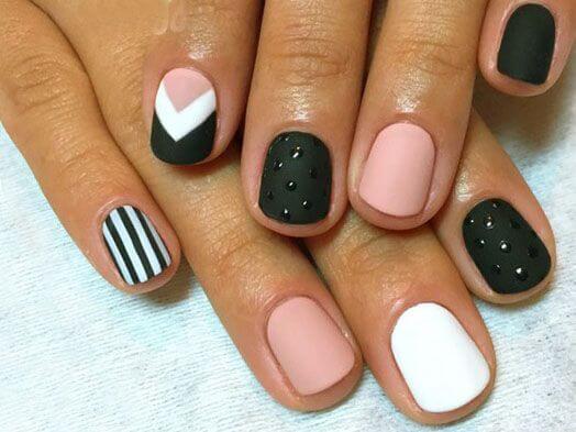 Геометрия на одном ногте