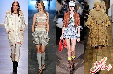 гетры женские с чем носить
