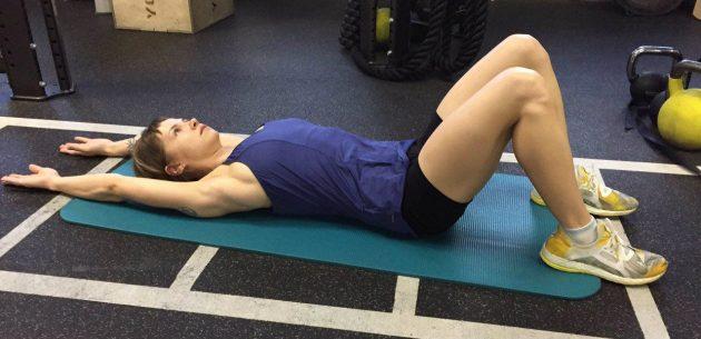 гибкость грудного отдела: тест на мобильность