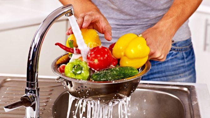 Главная диетическая еда - это овощи