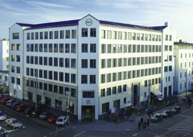 Главный офис MerzPharmaGroup