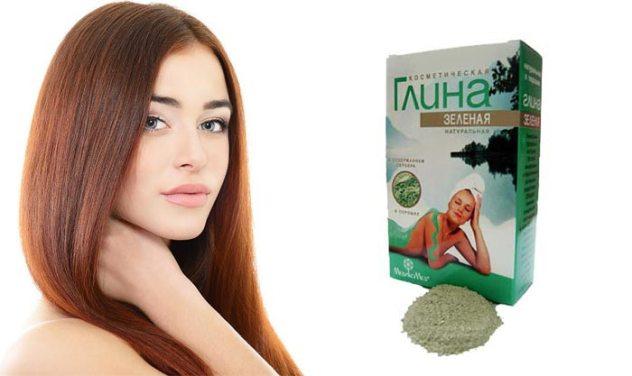 глиняная маска для жирных волос