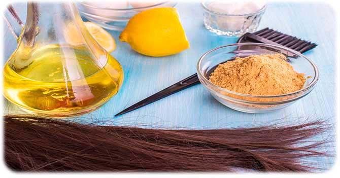 Горчица для жирных волос