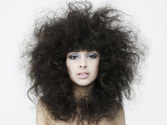 горячее масляное обертывание для сухих волос