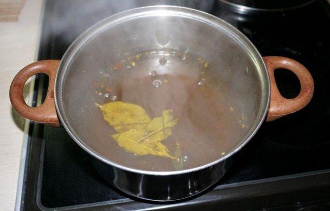 Готовим тузлук (рассол) для селедки