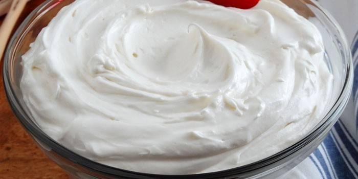 Готовый масляный крем