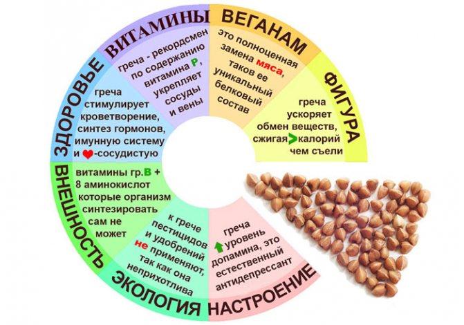 Какие витамины принимать с гречневой диетой