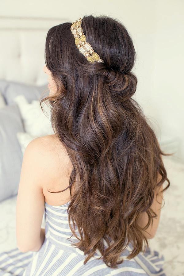 Греческая причёска с повязкой