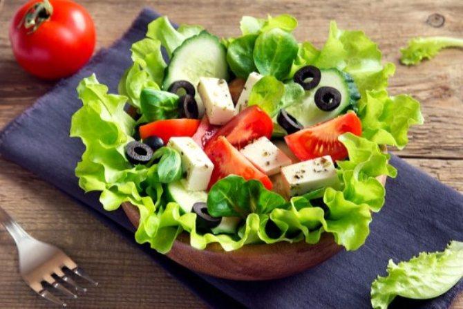 Греческий салат ПП на праздник