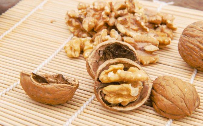грецкий орех польза для здоровья