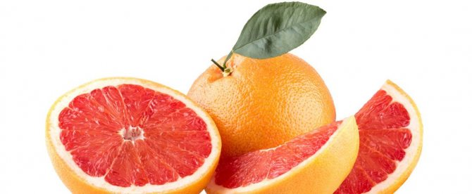 Грейпфрут. Топ-5 самых богатых витаминами фруктов и ягод
