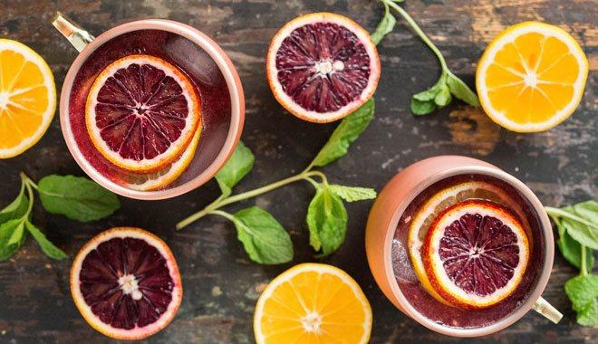 Грепфрут и лимон