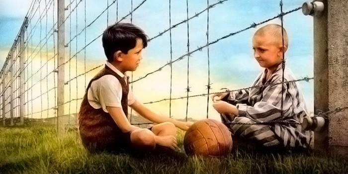 Грустный фильм - Мальчик в полосатой пижаме