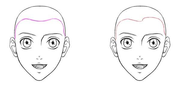 Аниме прически для девушек на короткие, средние и длинные волосы с челкой и без