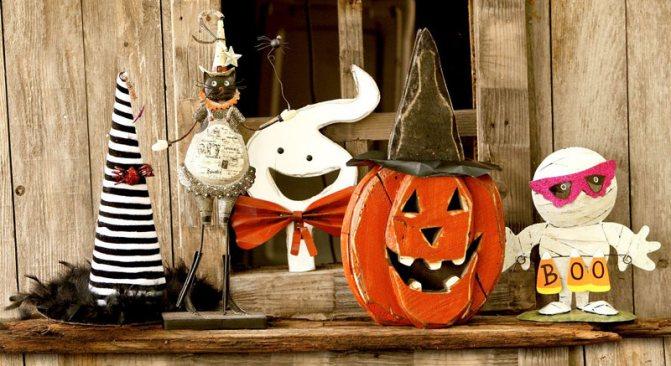 Хэллоуин, декор