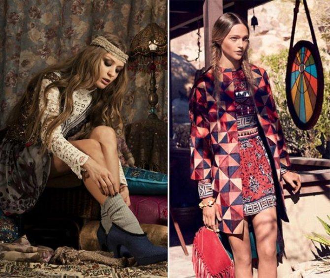 Хиппи шик одежде - стильно и удобно