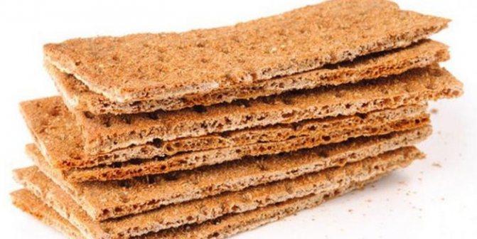 Хлебцы из цельнозерновой муки