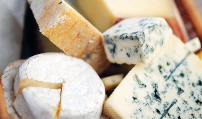 хранение сыра с плесенью