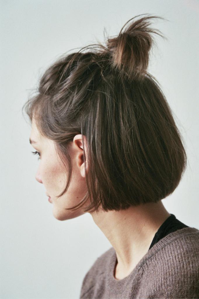 хвост на короткие волосы в домашних условиях