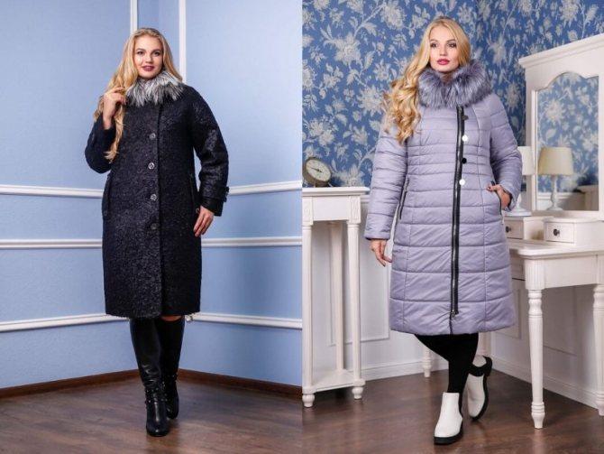 Идеальная длинна для зимнего пальто для полных женщин - Блог-Фаворитти