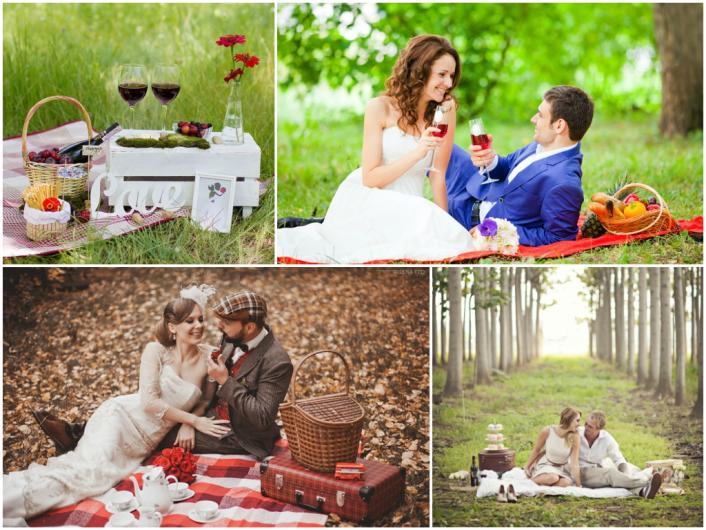 Идеи красивой фотосессии для маленькой свадьбы