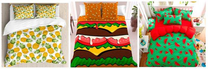 Идеи подарков на Новый год: аппетитное постельное белье