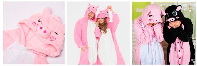 Идеи подарков на Новый год: пижама кигуруми
