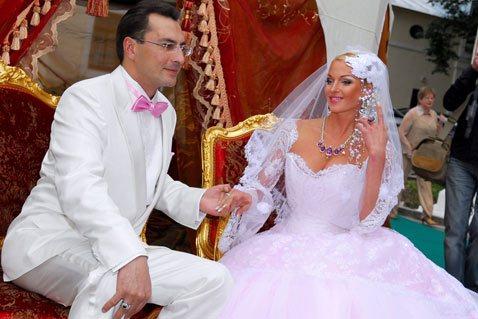 Игорь Вдовин и Анастасия Волочкова