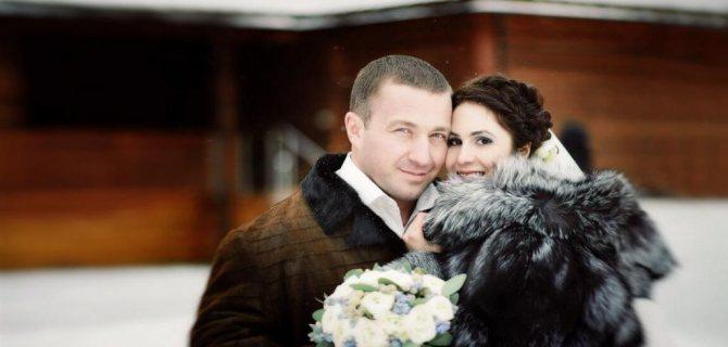 Илья Хорошилов с первой женой
