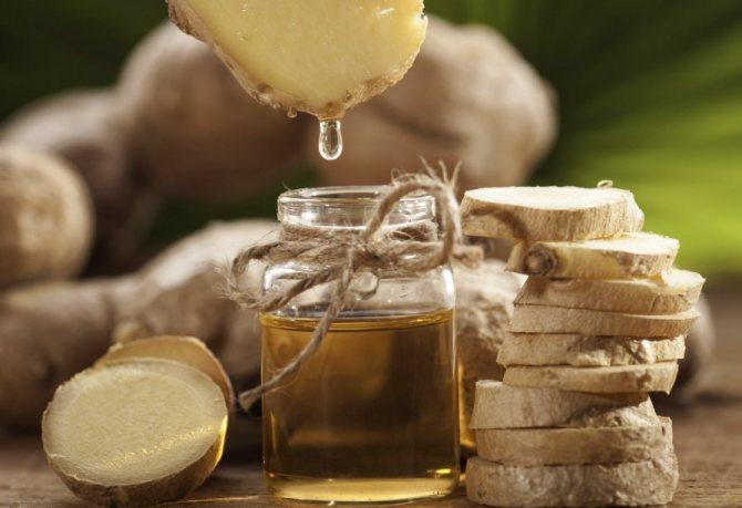 Имбирное масло