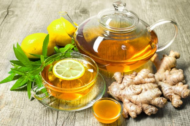 Имбирный чай - Что есть чтобы не болеть