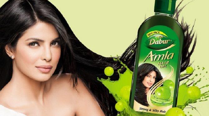Индийское масло для волос Dabur