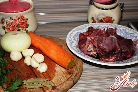ингредиенты для приготовления утки в мультиварке с овощами