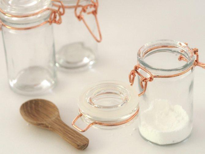 Ингредиенты для сухого шампуня своими руками