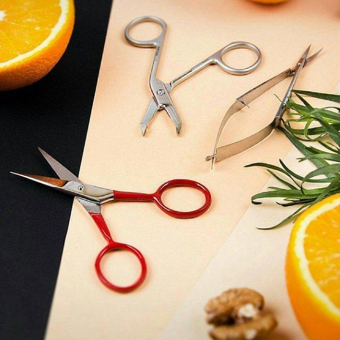 Инструменты для стрижки бровей