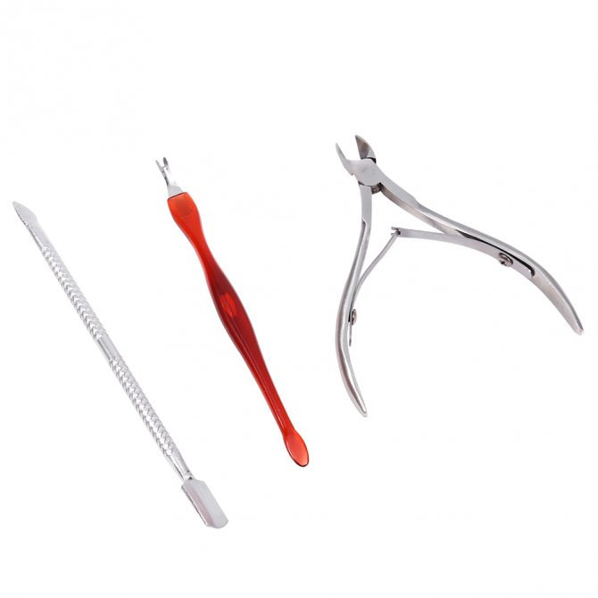 Инструменты для удаления кутикулы