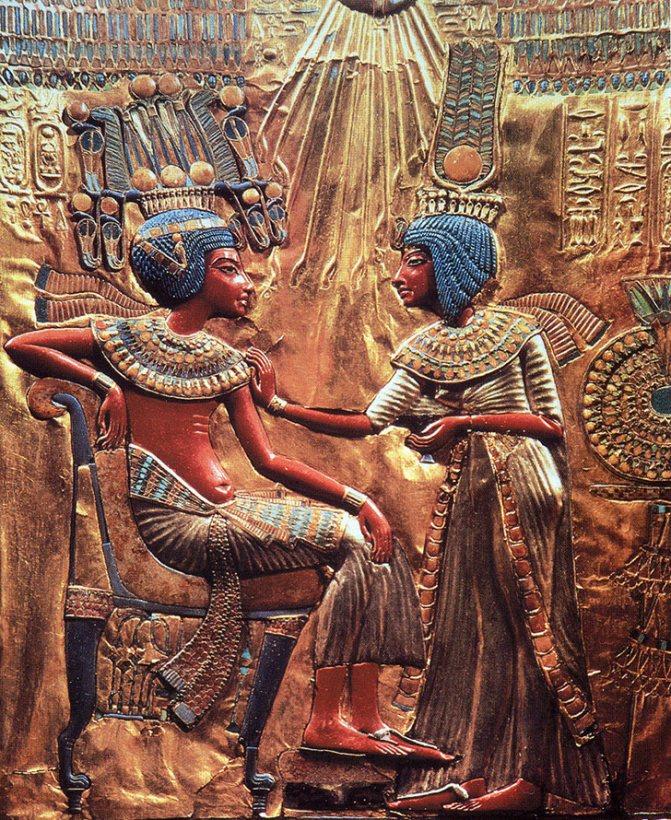 История причесок – египетские прически