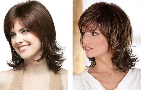 итальянка на разные типы волос