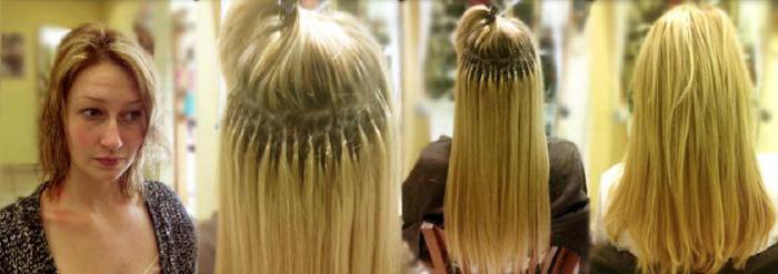 итальянское капсульное наращивание волос