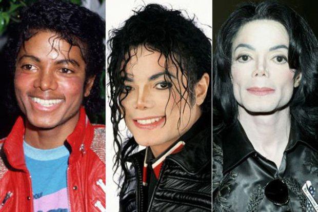 Изменение внешности Майкла Джексона с годами