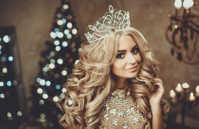 Изящная корона для невесты