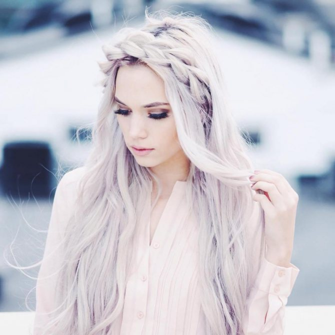 к чему снятся длинные белые волосы