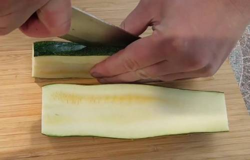 Кабачки гриль на мангале