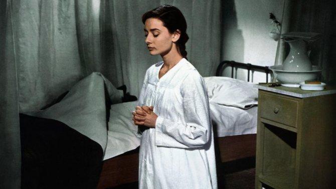 Кадр фильма «История монахини». 1959 год