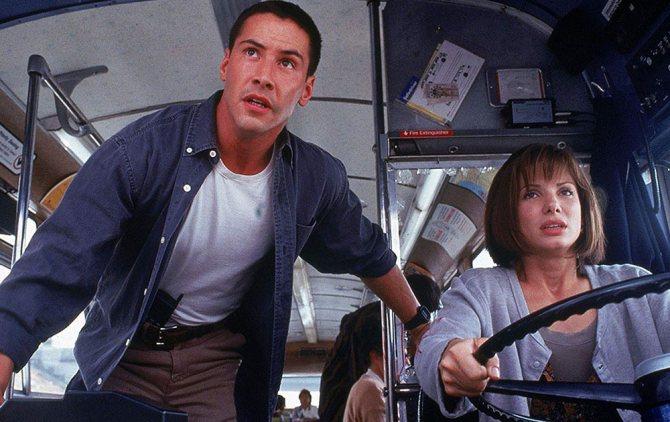Кадр из фильма «Скорость»